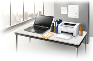 ML-2165W Black & White Laser Printer Product Shot