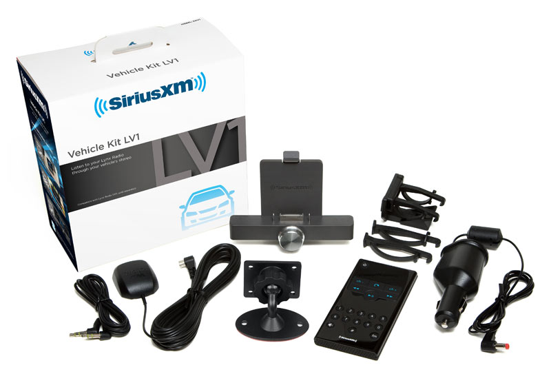 xm radio car installation kit