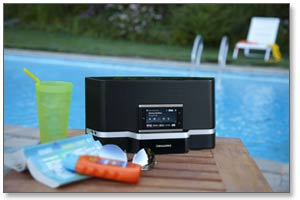 SiriusXM Portable Speaker Dock Product Shot