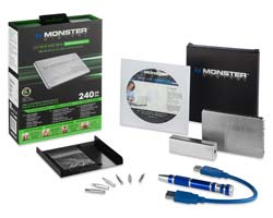 Monster Digital Le Mans Series 400GB Solid State Drive Easy Upgrade Kit Product Shot