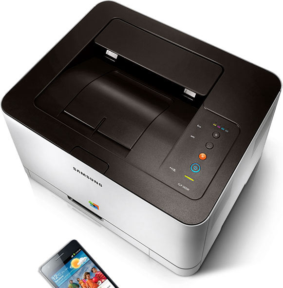 samsung electronics clp 365w wireless color printer electronics. Black Bedroom Furniture Sets. Home Design Ideas