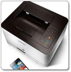 Samsung CLP-365W Color Laser Printer Product Shot