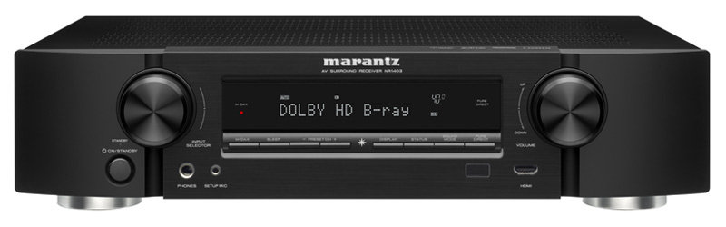 Amazoncom Marantz NR Slim Line Channel Home Theater AV - Small home theater receiver