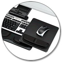 Fellowes Professional Series Executive Keyboard Tray Product Shot