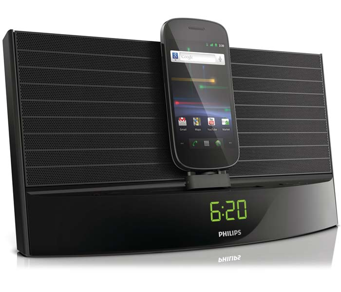 philips as140 fidelio android dock alarm clock fm radio bluetooth micro usb. Black Bedroom Furniture Sets. Home Design Ideas
