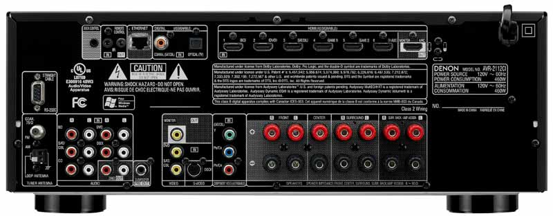 Amazon Com Denon Avr2112ci Integrated Network Av Surround
