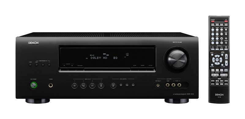 Denon AVR-1312 5 1 Channel AV Home Theater Receiver (Discontinued by  Manufacturer)