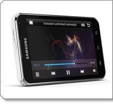 Samsung Galaxy Player 5.0 Product Shot