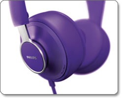 Philips CitiScape Downtown headset, purple (SHL5605PP/28) feature