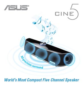 Accurate Soundstage from a compact speaker setup