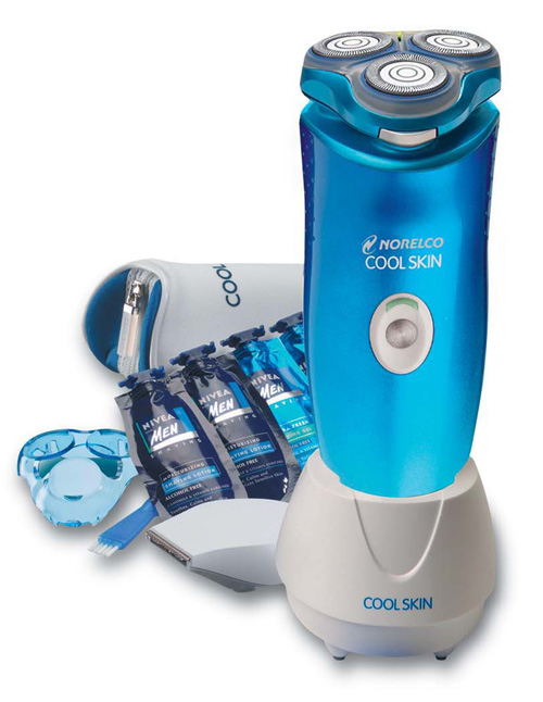 philips norelco 7735x cool skin lotion