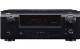 Amazoncom Denon AVR Watt  Channel Home Theater - Small home theater receiver