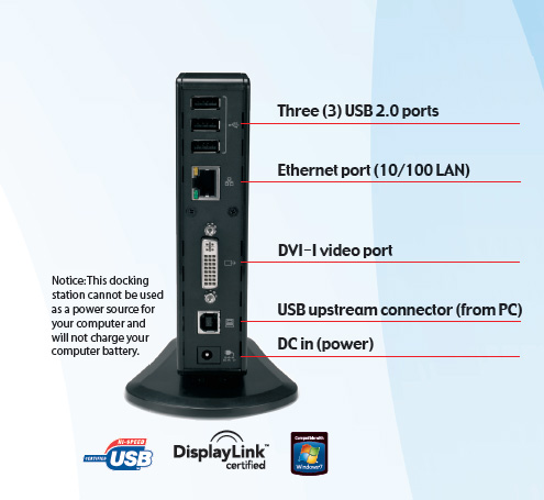 Amazon.com: Toshiba Dynadock V, Universal USB Docking