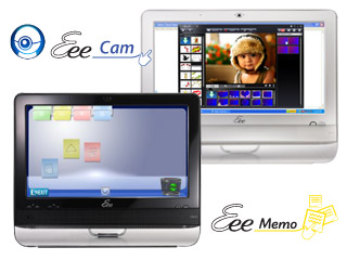 It is Easy to Stay in Touch with Eee Memo and Eee Cam