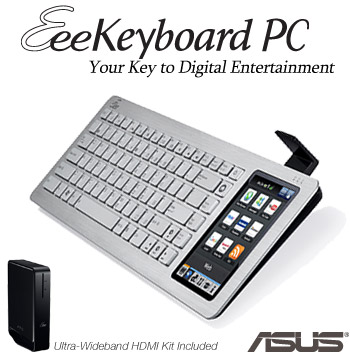 Stylish Keyboard Outside, Smart PC Inside
