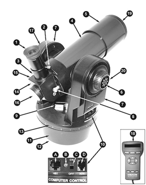 Amazon. Com: meade etx70at telescope w/882 tripod and software.