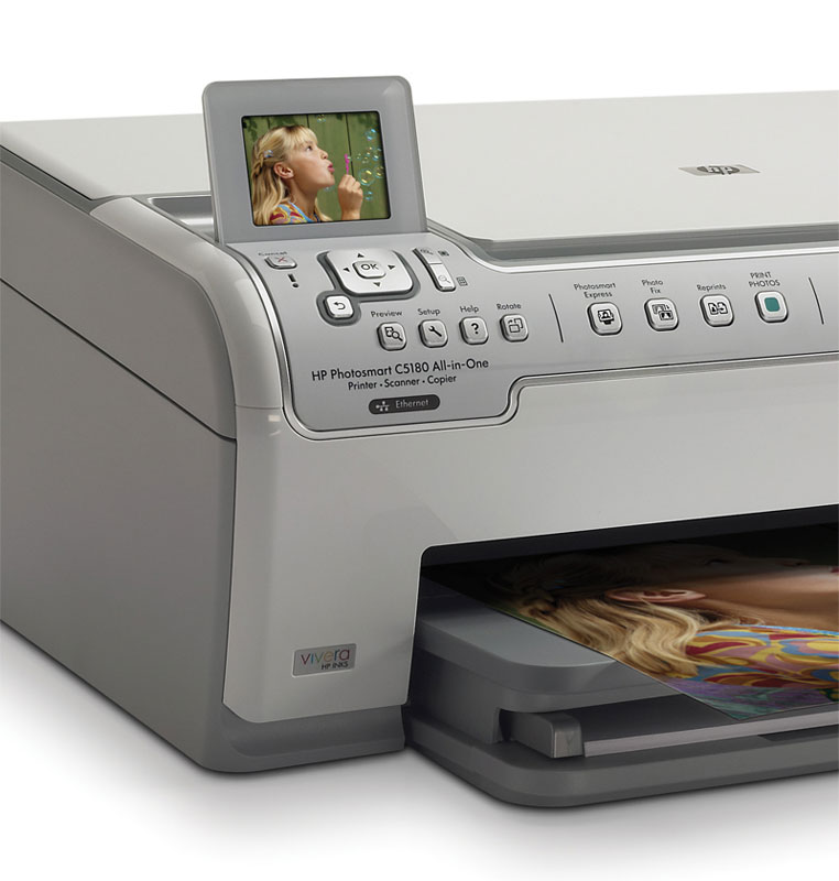 Amazon HP Photosmart C5180 All In One Printer