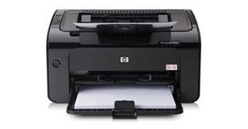 HP LaserJet Pro P1102w Front View