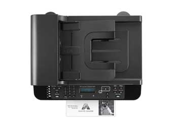 HP LaserJet Pro M1536dnf Top View