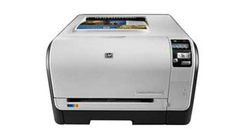HP LaserJet Pro CP1525nw Front View