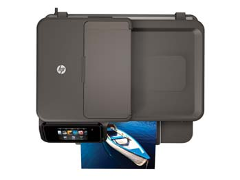 HP Photosmart 7510 e-All-in-One Top View