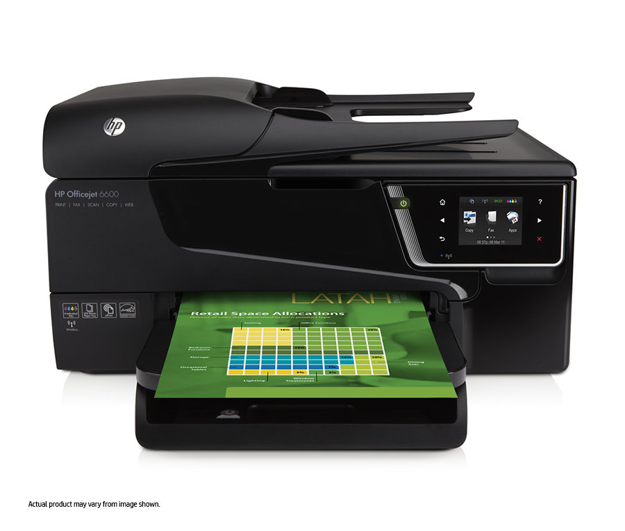 Amazon Com Hp Officejet 6600 E All In One Wireless Color