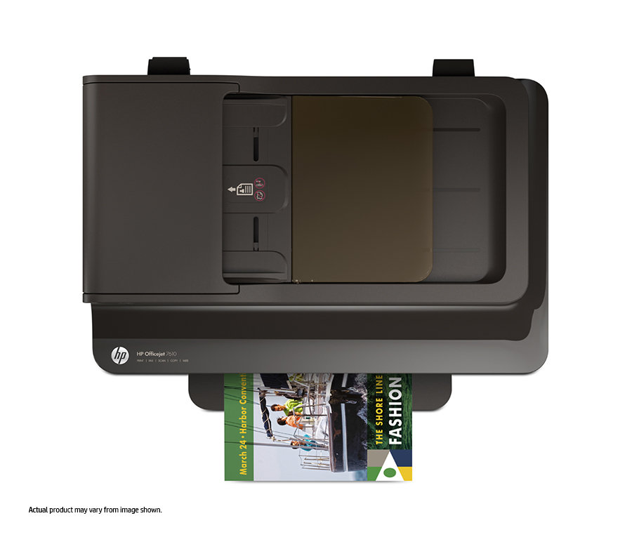 Amazon Com Hp Oj 7610 Wireless Color Photo Printer With