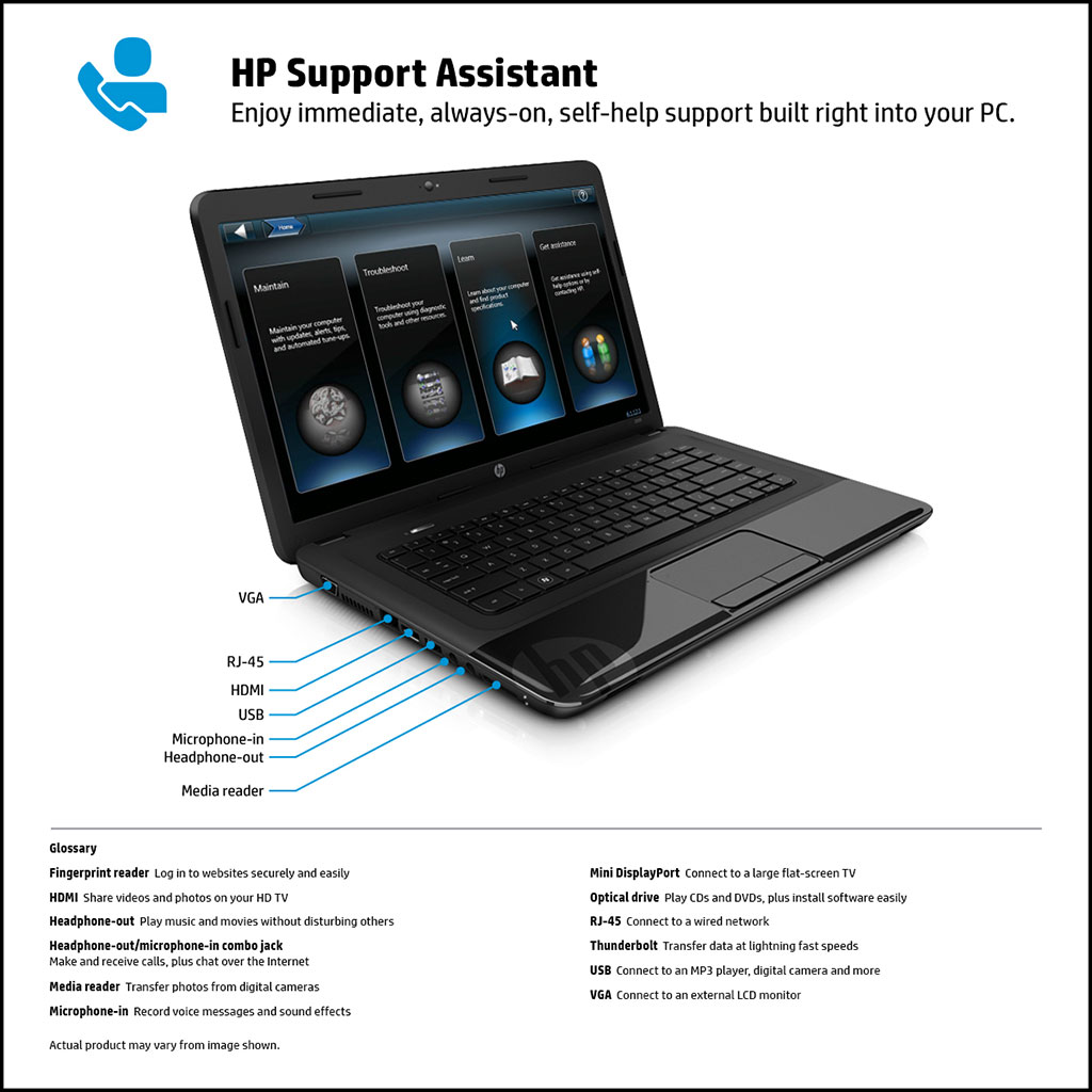 iPearl Inc - Light-weight, stylish mCover® Hard shell case for HP ...