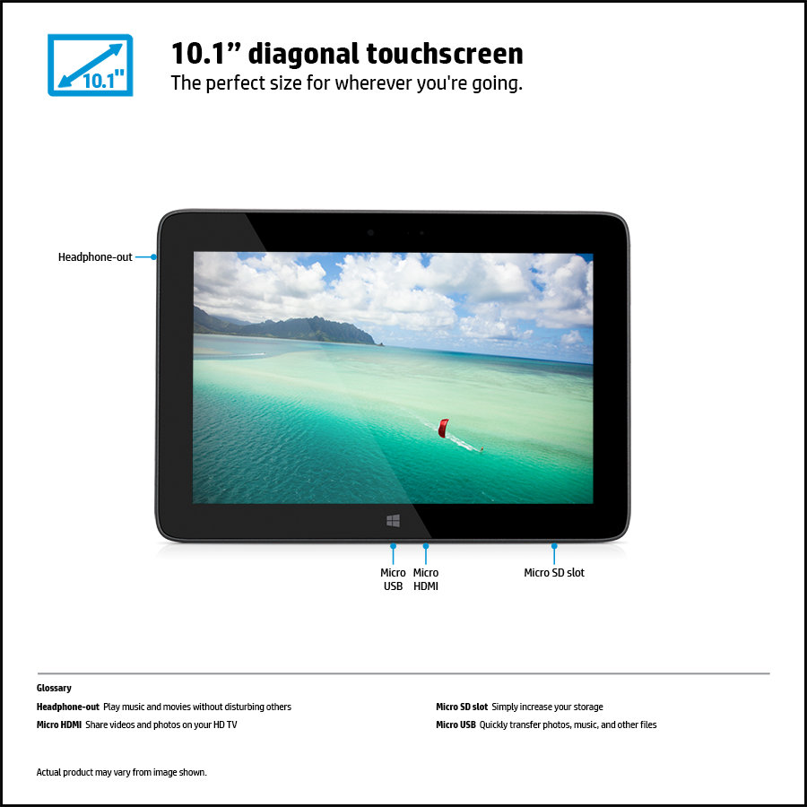 Amazon.com : HP Omni O10-5600US 10.1-Inch 32 GB Tablet