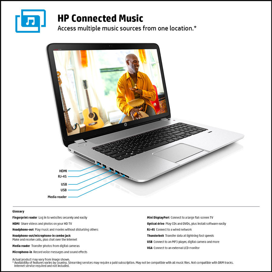 Amazon Com Hp Envy 17 J120us 17 3 Inch Laptop With Beats