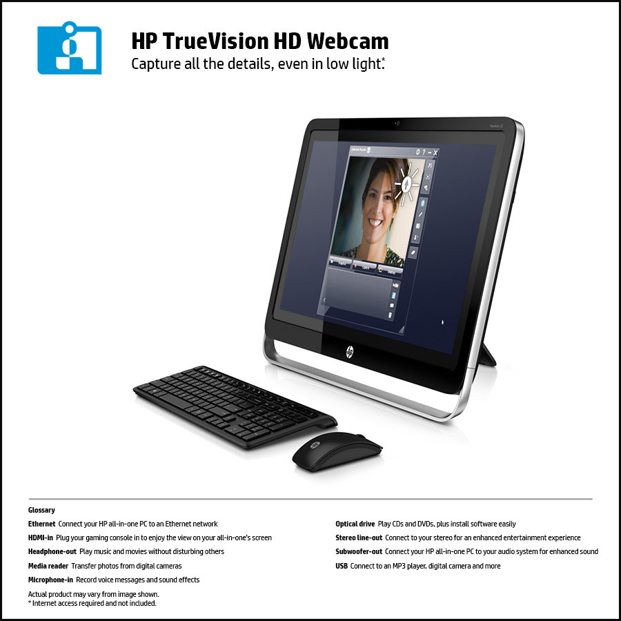Amazon Com Hp Pavilion 23 H050 23 Inch Touchsmart All In