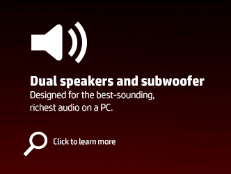 Dual speakers and subwoofer