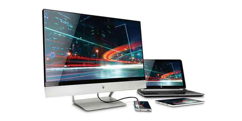 hp envy 24 24 inch screen led lit monitor import it all. Black Bedroom Furniture Sets. Home Design Ideas