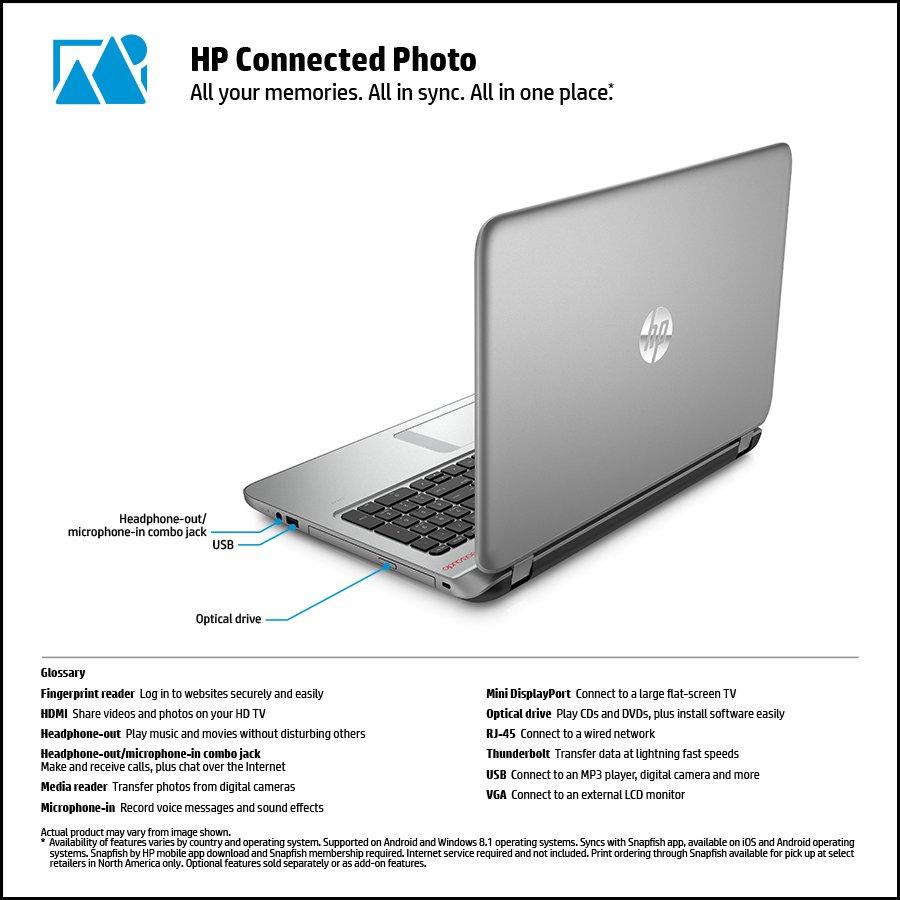 Hp notebook operating system -  Hp 15 K016nr Notebook