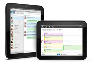 HP TouchPad Synergy