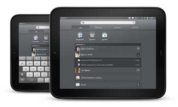 HP TouchPad Just Type