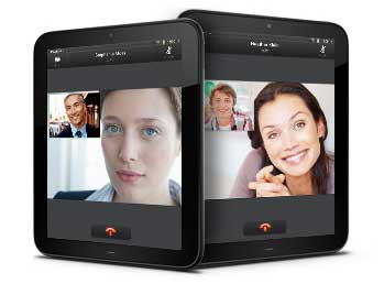HP TouchPad Video Calling