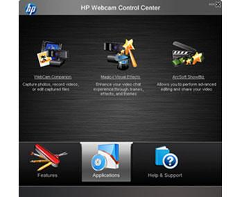 HP Webcam Control Center