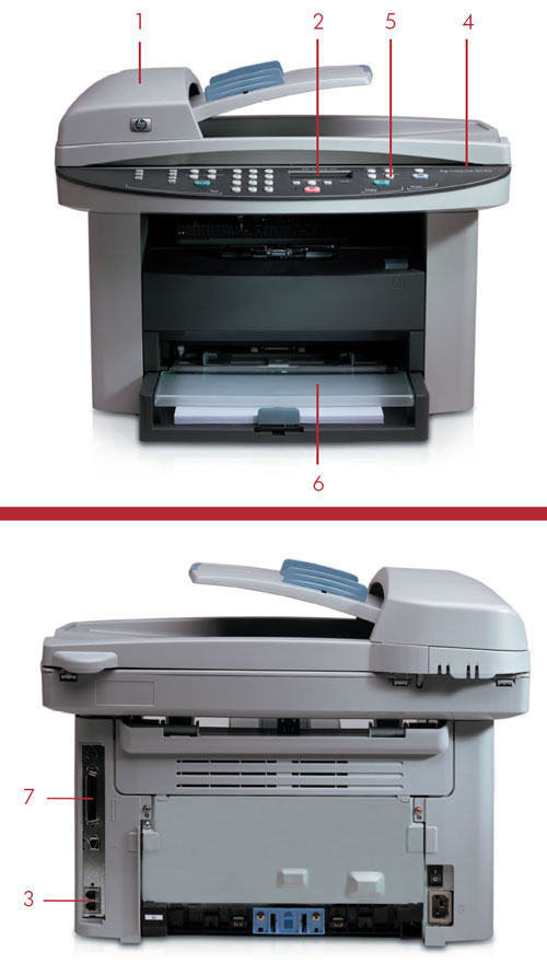 HP LaserJet 3030 All-in-One Printer | HP® Customer Support