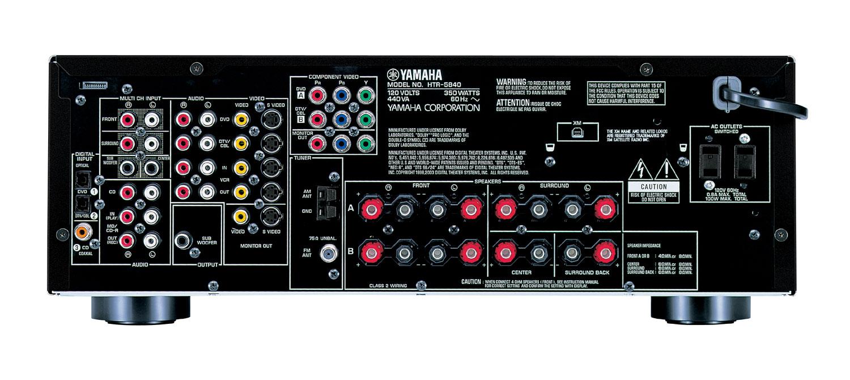 Yamaha Natural Sound Av Receiver Htr