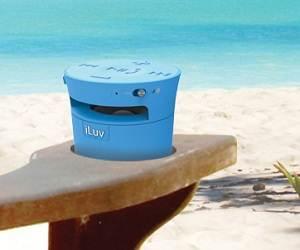 iLuv MobiCup Splash-Resistant Wireless Bluetooth Speaker and Speakerphone