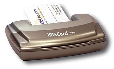Iriscard Mini Card Scanner Silver