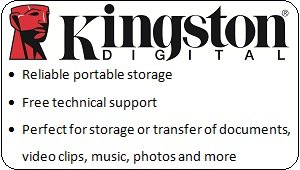 Kingston Data Traveler at a Glance