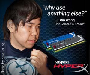 Justin Wong and Kingston Hyper X