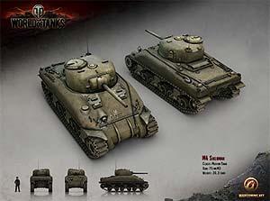 World of Tanks: M4 Sherman Tank