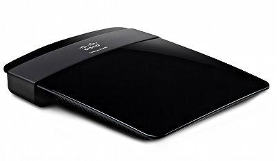 Linksys E1200 Wireless-N Router - top