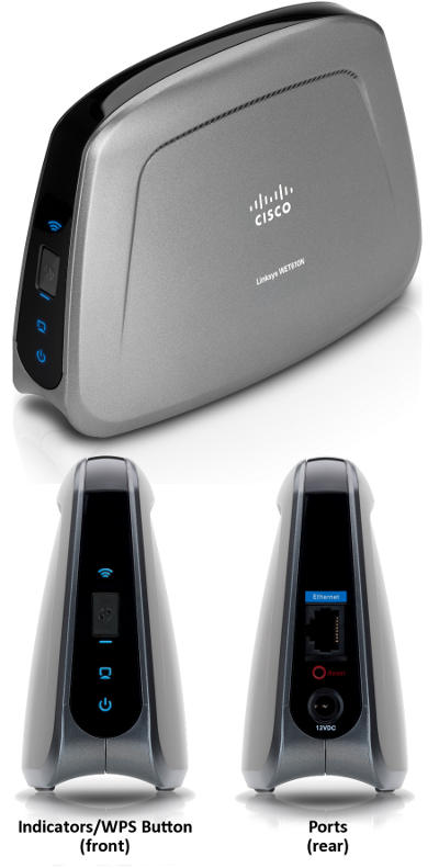 Linksys WET610N Dual-Band N Entertainment Bridge
