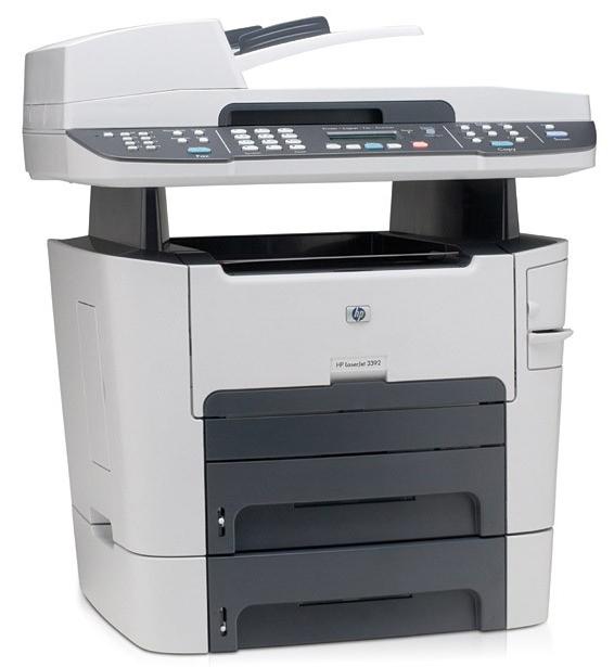 Amazon Com Hp Laserjet 3390 All In One Printer Copier Scanner Fax