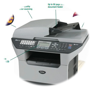 Brother MFC-8860DN Scanner Resolution Improvement Descargar Controlador