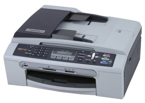Amazon.com : Brother MFC-240C Color Inkjet All-in-One Printer with Fax